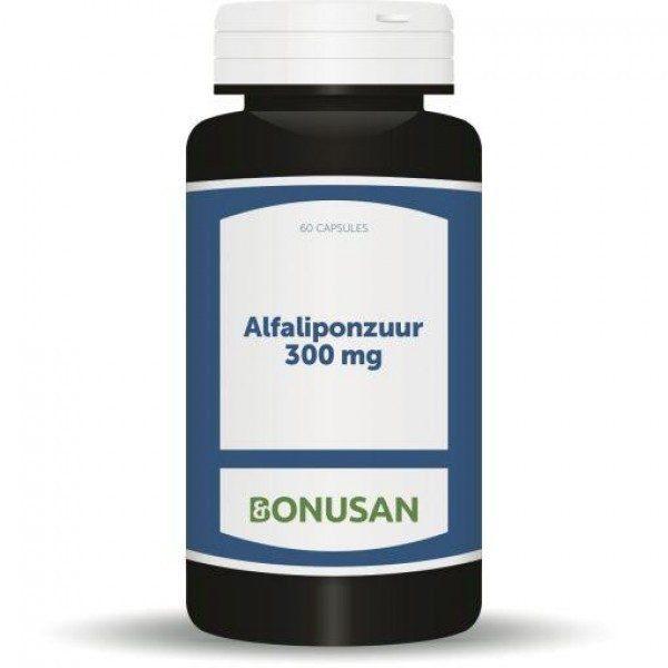 Bonusan Alfaliponzuur – 60 caps (300 mg)