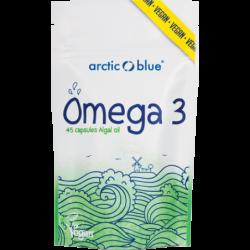 Arctic Blue Vegetarische Algenolie – 45 capsules