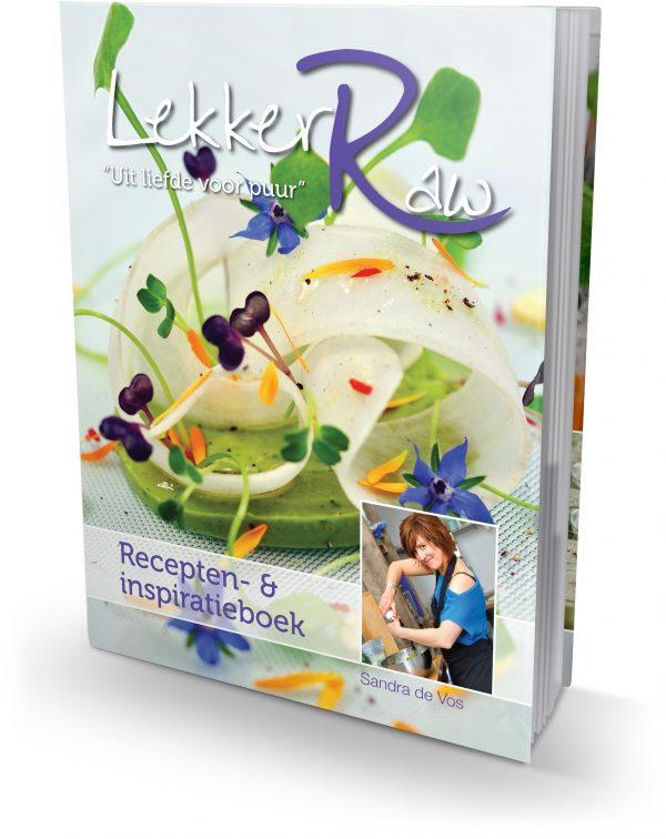 LekkerRaw recepten- en inspiratieboek - Sandra de Vos