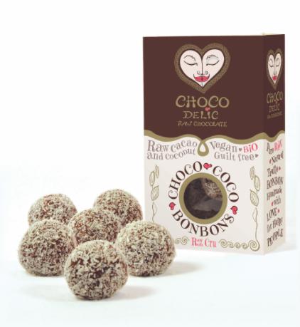 Choco Coco Bonbons - doosje 6 stuks (CHOCOdelic)