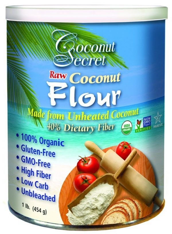 Kokosmeel, Coconut Secret - 450 gram
