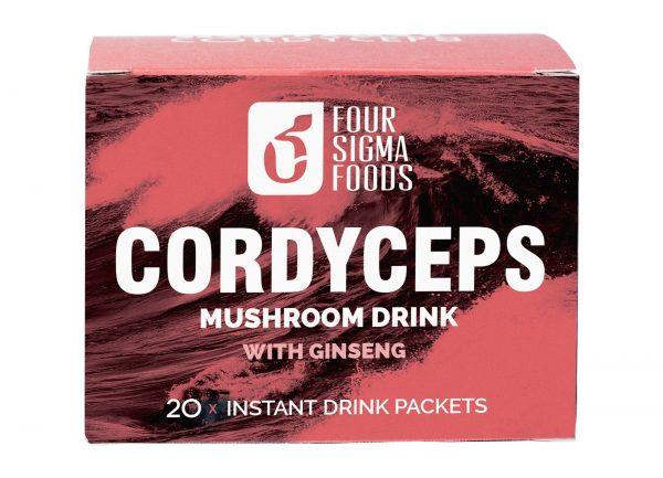 Cordyceps Instant Kruidendrankje - 60 gram (Four Sigma Foods)