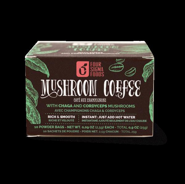 Mushroom Coffee Cordyceps & Chaga - 25 gram (Four Sigma Foods)