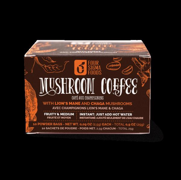 Mushroom Coffee Lion´s Mane & Chaga - 25 gram (Four Sigma Foods)