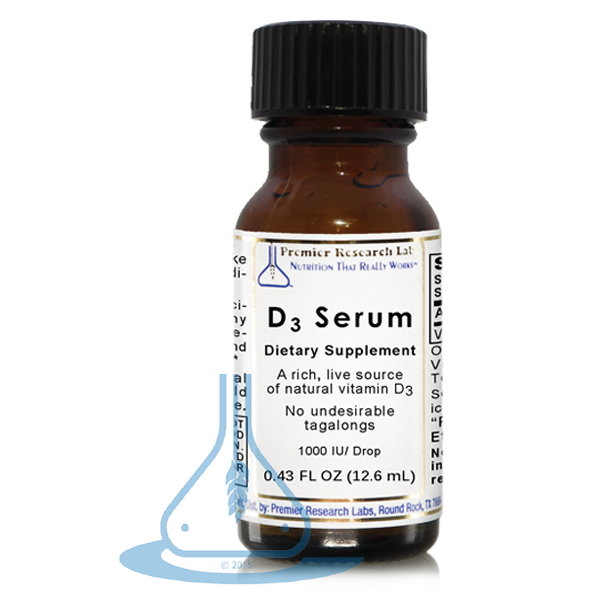 Vitamin D3 serum 1000IU - 12,6 ml (Premier Research Labs)