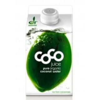 Kokoswater Pure Organic Coconut - 1 pakje à 500 ml (Dr. Martins)