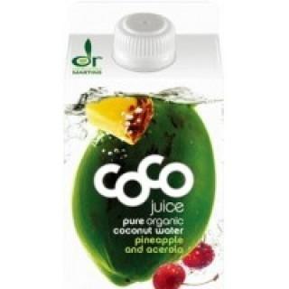 Kokoswater Ananas & Acerola - 1 pakje à 500 ml (Dr. Martins)