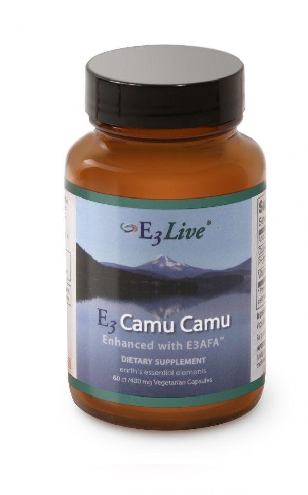 E3 Camu Camu met E3AFA - 60 vcaps (E3Live)