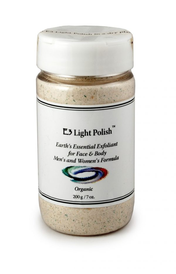 E3 Light Polish Exfoliant - 200 gram/ 7 oz (E3 Live)