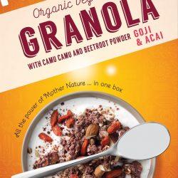 Rode Granola Goji & Açai (biologisch) - 200 gram (Superfoodies)