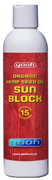 Yaoh Hennep Sunblock SPF 15 - 240 ml