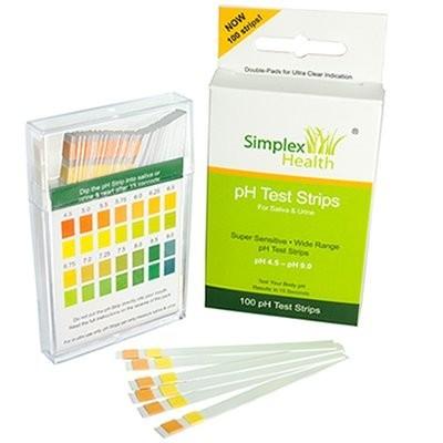 pH Test Strips (4.5 - 9.0) - 100 strips
