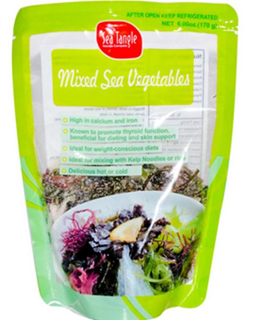 Gemengde zeegroenten / Mixed sea vegetables - 170 gram / 6 oz
