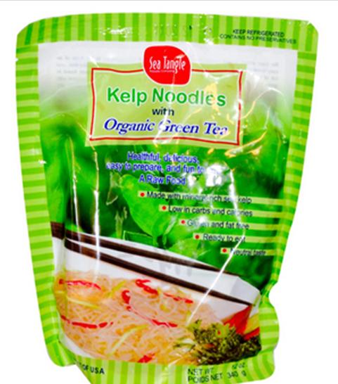 Sea Tangle Biologische Groene Thee Kelp Noodles / Zeewier Pasta - 340