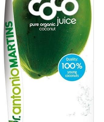 Kokoswater Pure Organic Coconut - 1 liter (Dr. Martins)