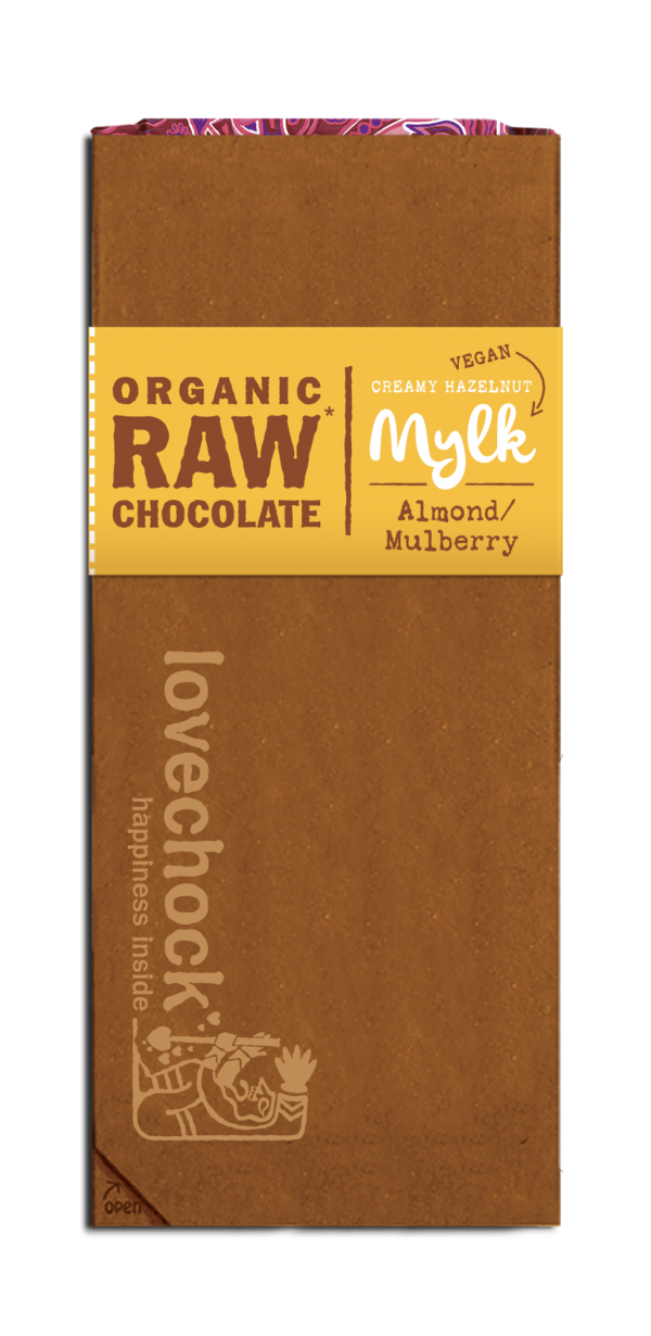 Lovechock Tablets Almond/Mulberry MYLK - 70 gram