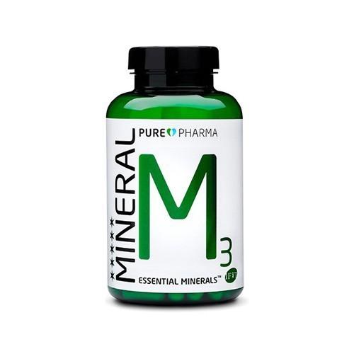 PurePharma M3 Essential Minerals - 120 capsules