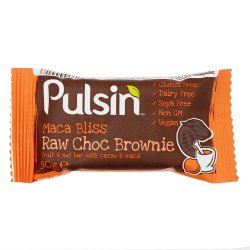 Pulsin´ Maca Bliss Raw Choc Brownie - 50 gram