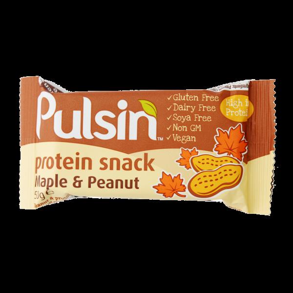 Pulsin´ Maple & Peanut Protein - 50 gram
