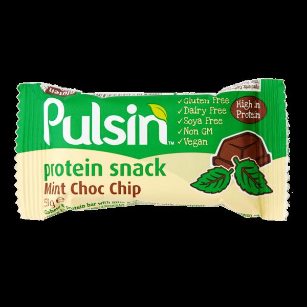 Pulsin´ Mint Choc Chip Protein - 50 gram