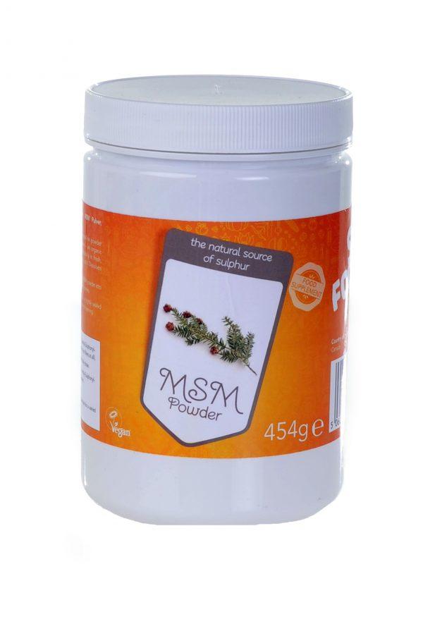 MSM poeder - Superfoodies - 454 gram