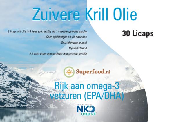 Neptune Pure Krill Olie - 30 capsules