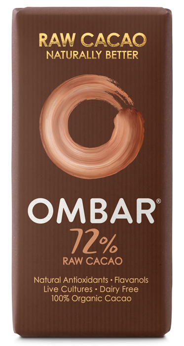 Ombar Dark Chocolate 72% - 35 gram