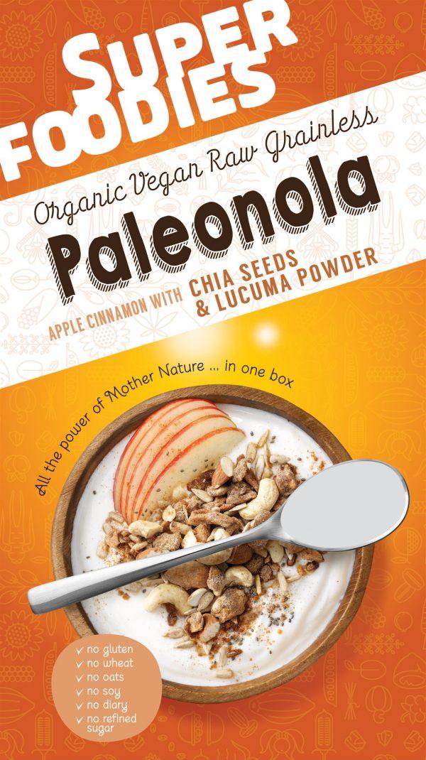 Paleonola Apple Cinnamon - 200 gram (Superfoodies)
