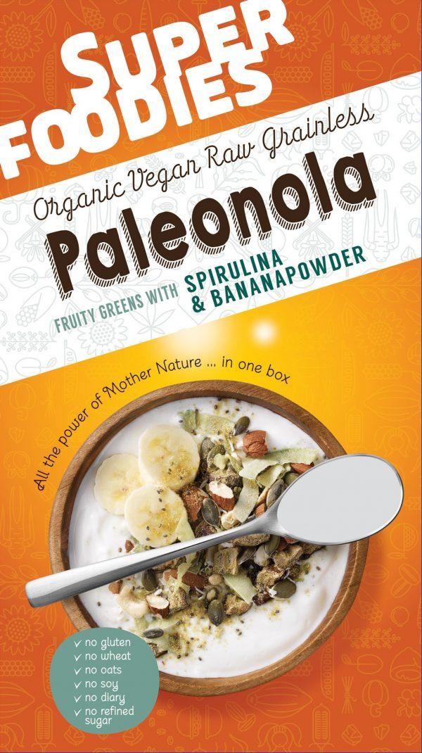 Paleonola Fruity Greens - 200 gram (Superfoodies)