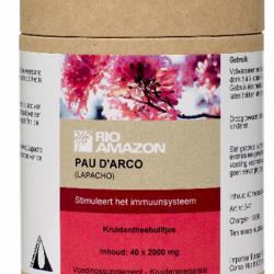 Pau d´Arco - 40 kruidentheebuiltjes (Rio Amazon)