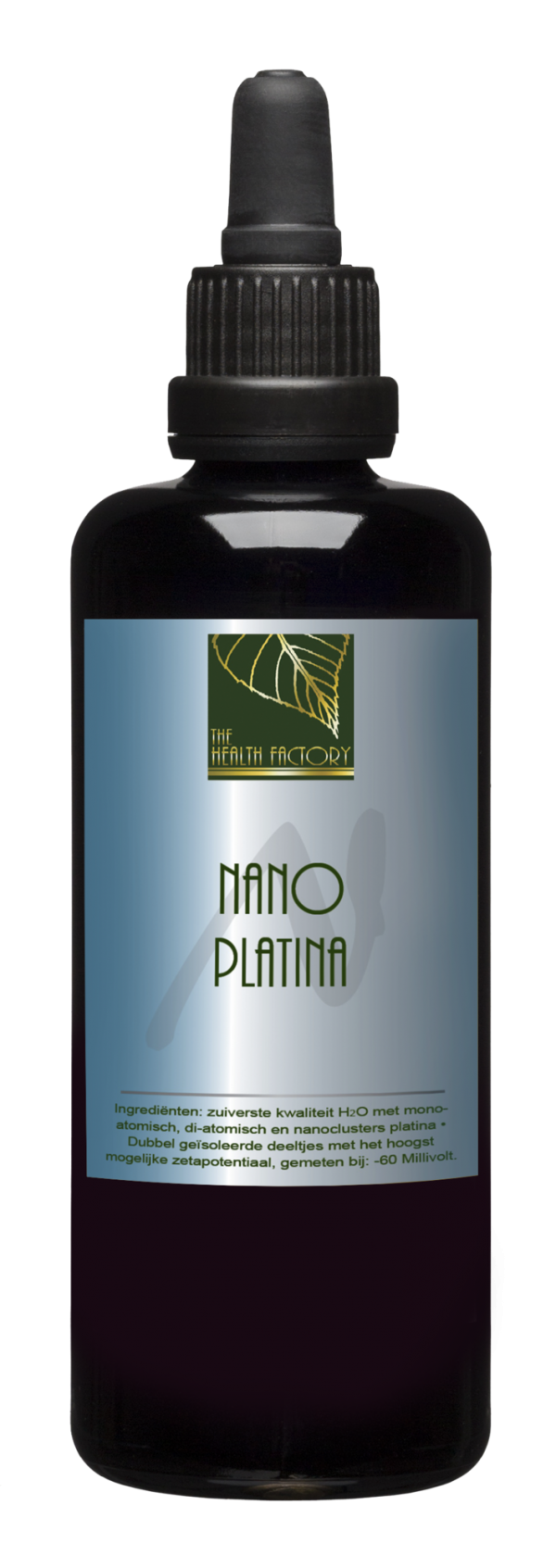 Nano Mineraal Water (Colloïdaal platina) - 100 ml met pipet - The Hea