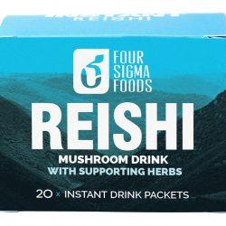 Reishi Instant Kruidendrankje - 60 gram (Four Sigma Foods)