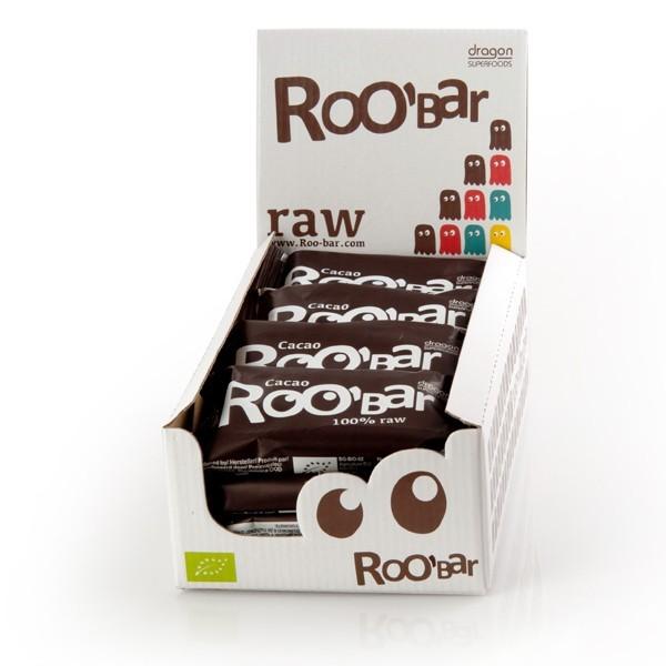 RooBar Cacao - 50 gram - doos 16 stuks