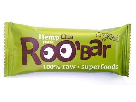 Hemp Protein & Chia reep - 50 gram (RooBar)