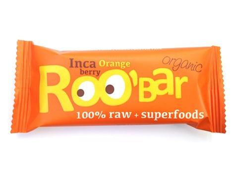 Inca berry & Orange reep - 50 gram (RooBar)