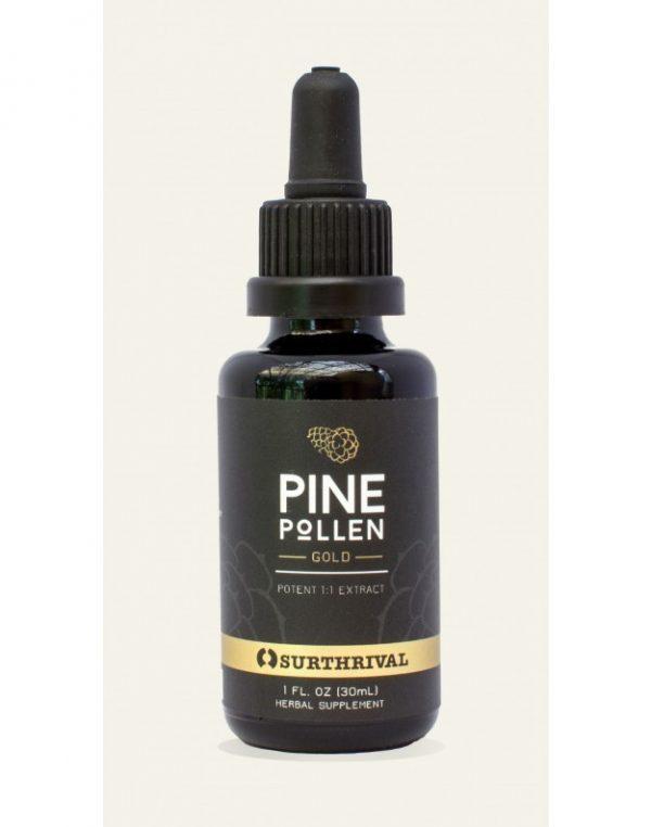 Pine Pollen (grenenpollen) Gold Extract - 30 ml (Surthrival)