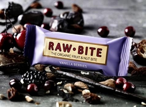 Vanilla Berries BIO reep - 50 gram (Raw-Bite)