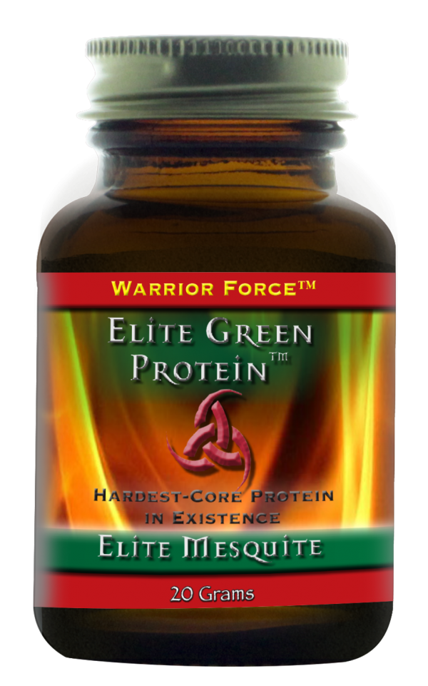 Warrior Force Elite Green Protein Mesquite – 20 gram Proefverpakking