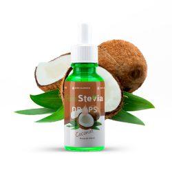 Stevia drops cocos