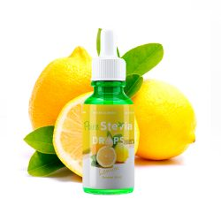 Stevia drops lemon