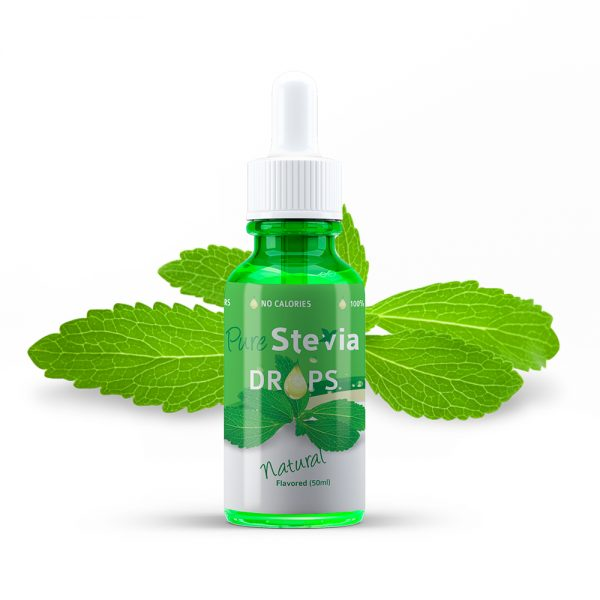 Stevia drops naturel