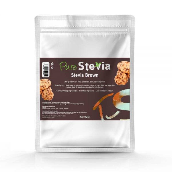 Stevia Bruine Suiker 500g