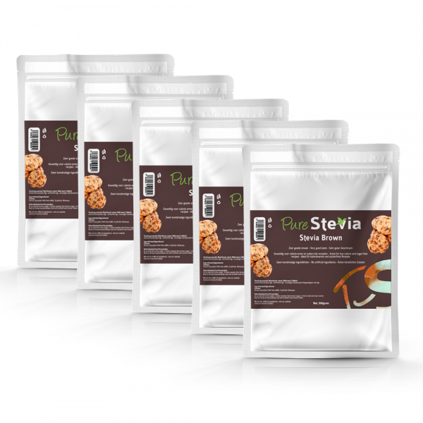Stevia bruine suiker bulk