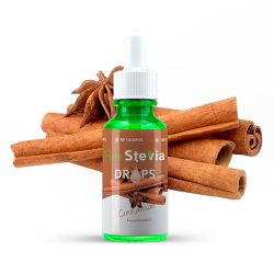 stevia drops cinnamon 50ml