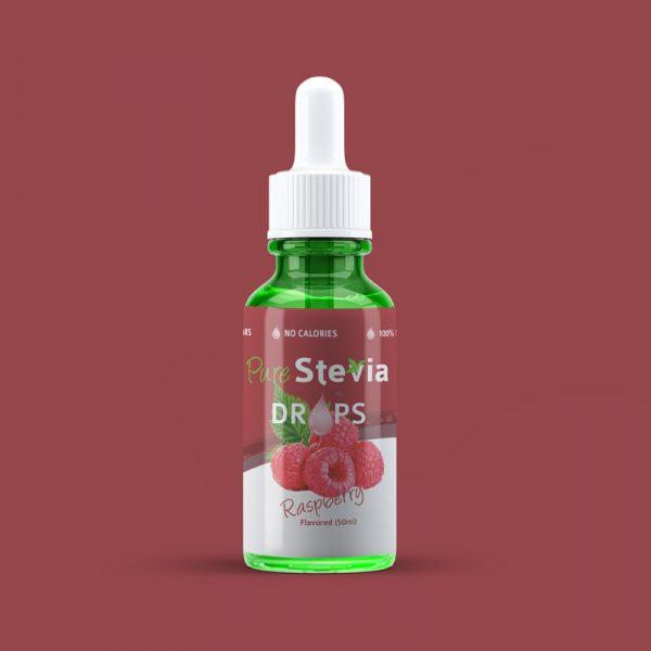 stevia raspberry drops 50ml