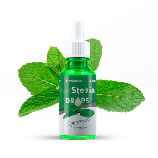 Spearmint drops stevia 50ml
