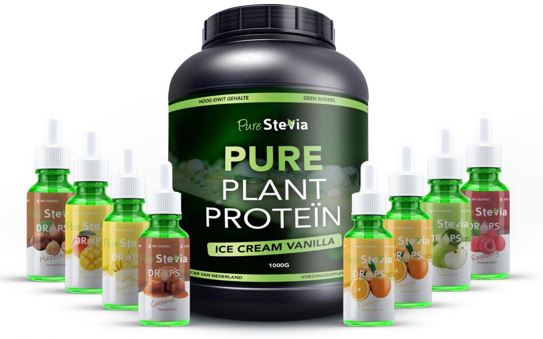Proteïne poeder met Ert proteïne isolaat!