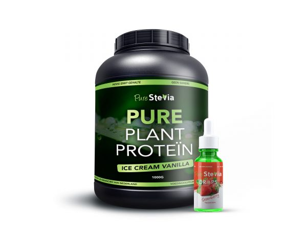 Pure Plant Protein Aardbei