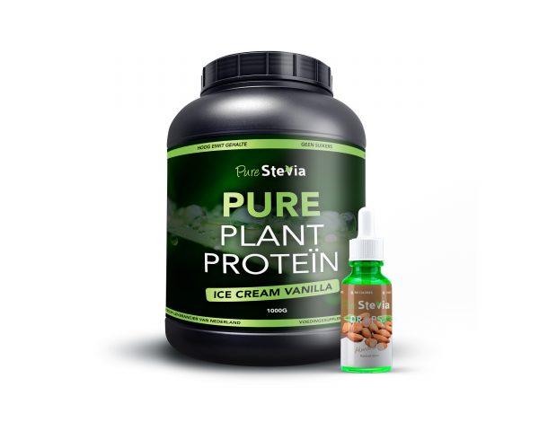 Pure Plant Protein Amandel